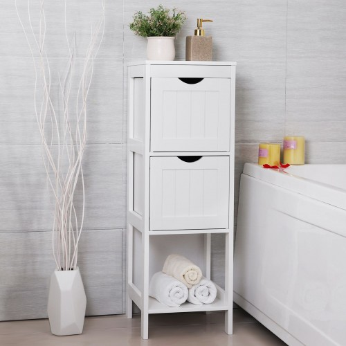 Double Drawers Bathroom Cabinet