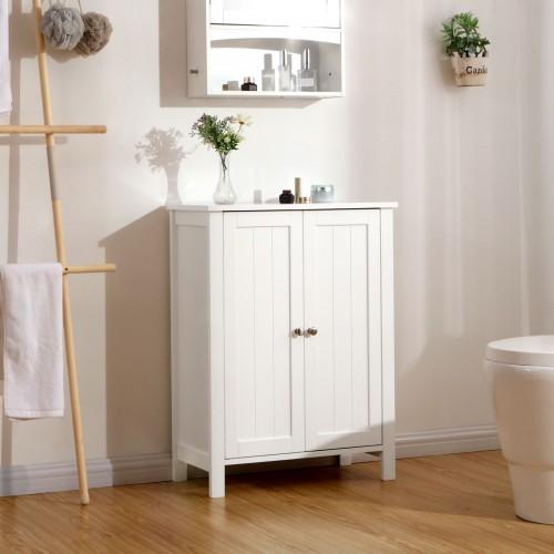 Astounding Double Door Bathroom Cabinet Download Free Architecture Designs Licukmadebymaigaardcom