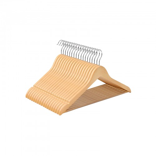 10 Pieces Wooden Hangers