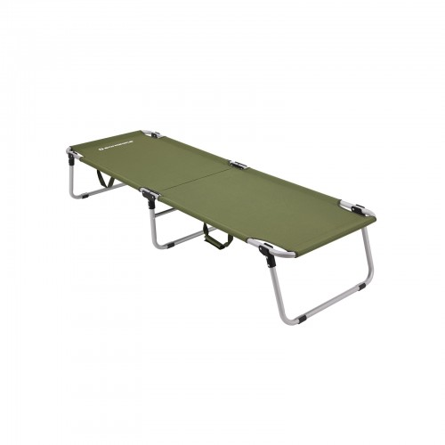 Army Green Camping Bed