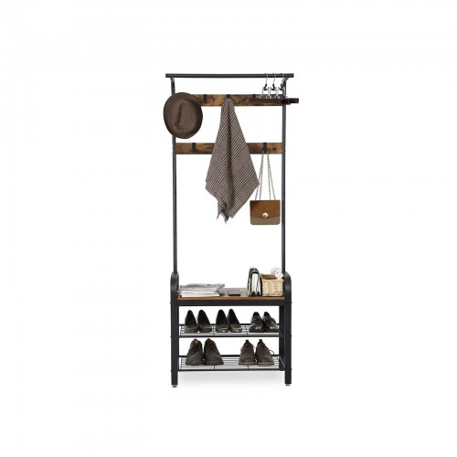 Vintage Coat Shoe Rack