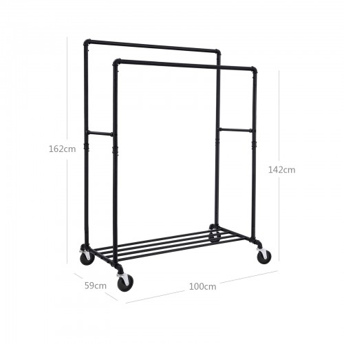 Industrial Pipe Clothes Rack