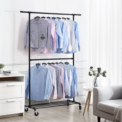 Double Rod Garment Rack