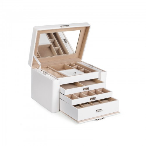 3 Drawers Jewellery Box