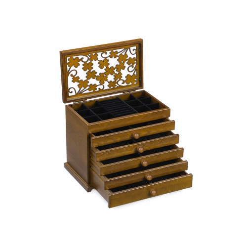 Clover Pattern Jewellery Box