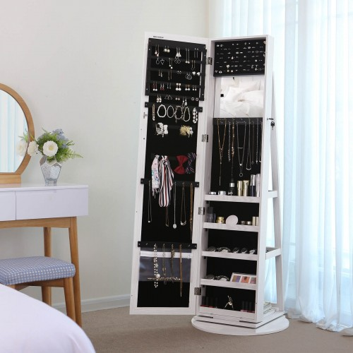 Rotatable Jewellery Cabinet