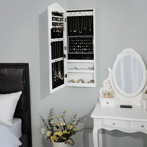 Wall Mounted Jewellery Cabinet