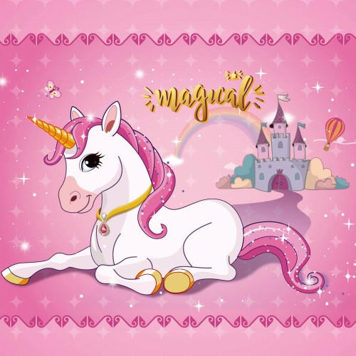 Wind-Up Music Box with Storage SONGMICS Ballerina Musical Jewellery Box Unicorn for Little Girls Pink JMC007PK 2 Pullout Drawers