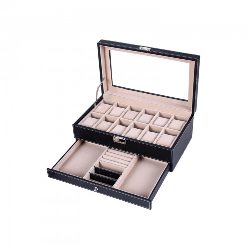 Double Layer Watch Box