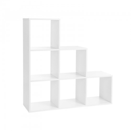 6 Cubes Staircase Shelf