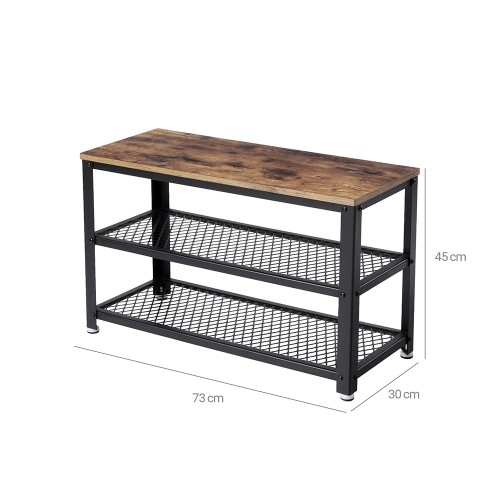 Phenomenal Industrial Storage Shoe Bench Inzonedesignstudio Interior Chair Design Inzonedesignstudiocom