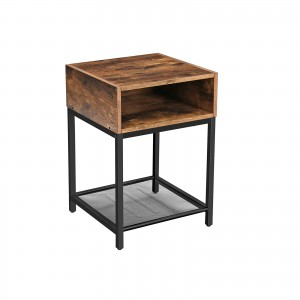 Open Compartment Nightstand