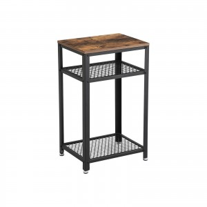 2 Shelves Side Table