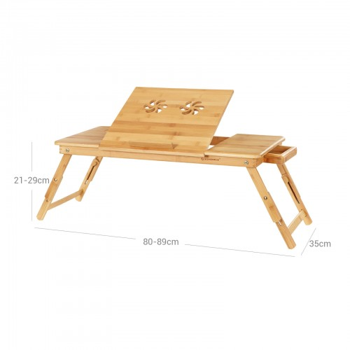 Bamboo Foldable Laptop Desk