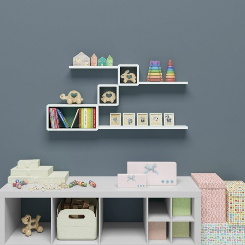 Rectangular Wall Shelves