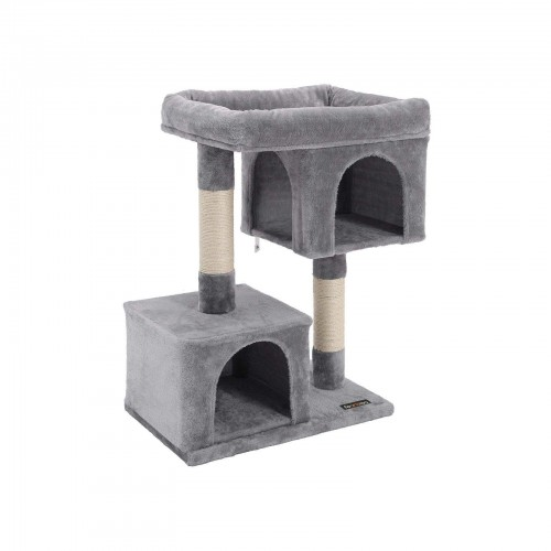FEANDREA Plush Condos Cat Tree