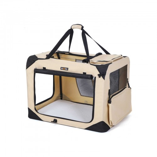 FEANDREA Medium Beige Pet Carrier