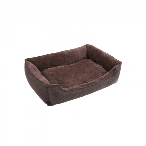 FEANDREA Brown Washable Dog Bed