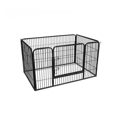 Black Puppy Playpen