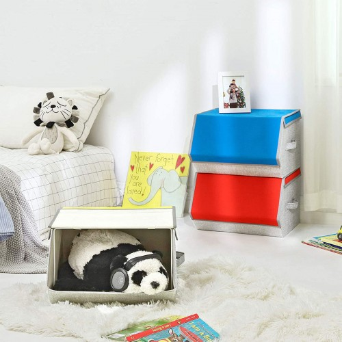 Colorful Toy Storage Boxes