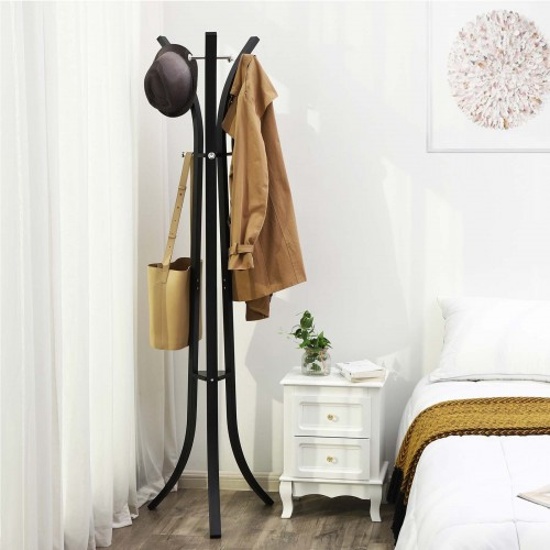 9 Hook Coat Rack