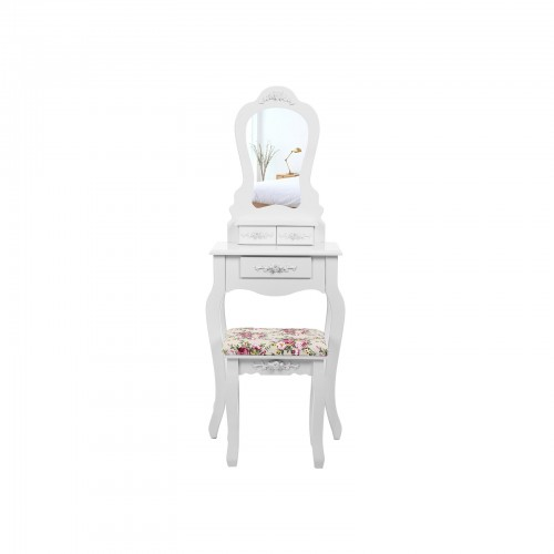 Compact Dressing Table Set