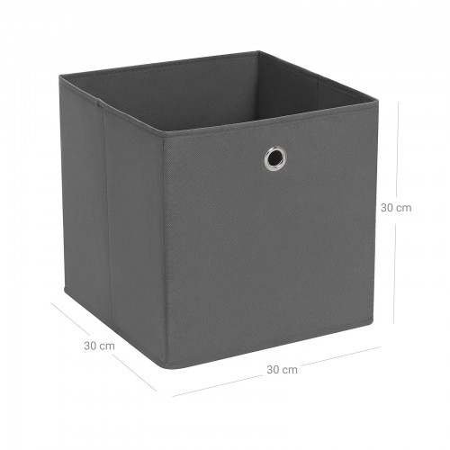 Grey Fabric Storage Boxes