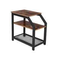 3-Tier Industrial Side Table