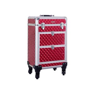 Rolling Trolley Cosmetic Case