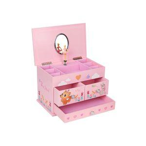 Ballerina Musical Jewellery Box