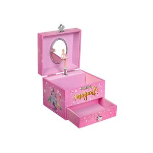 Clockwork Musical Jewellery Box