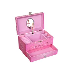 Ballerina Music Jewellery Box