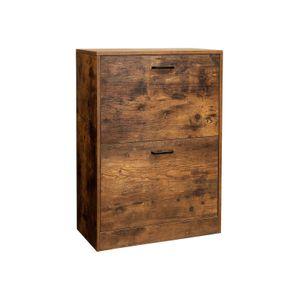 Flip Doors Shoe Cabinet