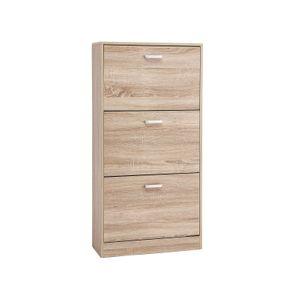 Oak Colour Shoe Cabinet