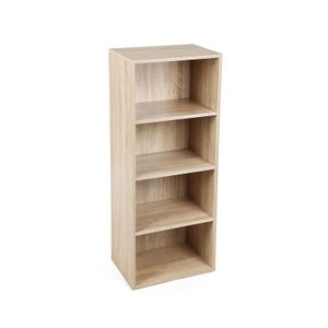 4 Tier Wooden Bookcase