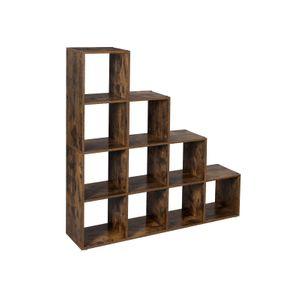 10 Cubes Staircase Shelf