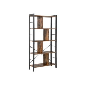 4 Tier Industrial Bookshelf