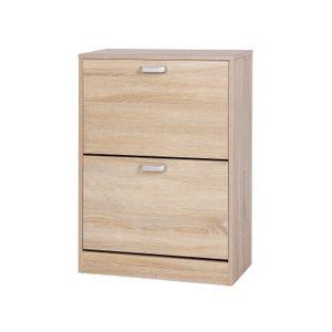 2 Tiers Storage Cabinet