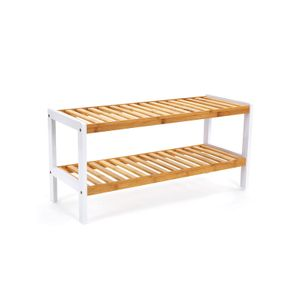 2-Tier Bamboo Rack