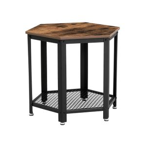 Hexagonal Side Table