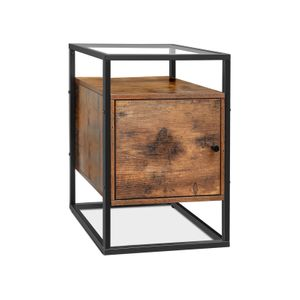 Side Table with Cupboard