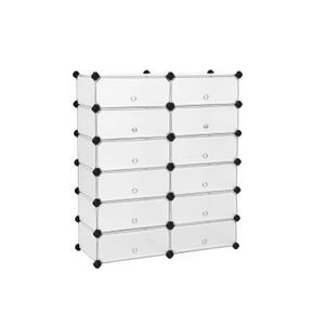 12 Cube Interlocking Storage Unit
