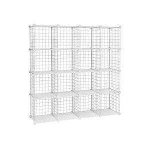 16 Mesh Cubes Organiser