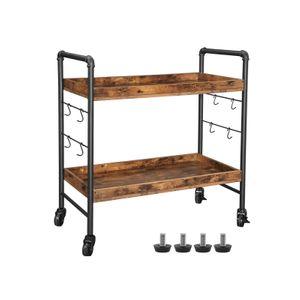 Industrial Serving Cart Trolley