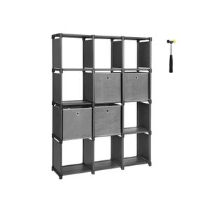 12 Cubes Bookcase