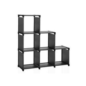 6 Cube Cabinet Bookcase