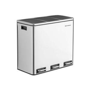 3 Compartments Dustbin
