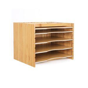 Bamboo File Organizer