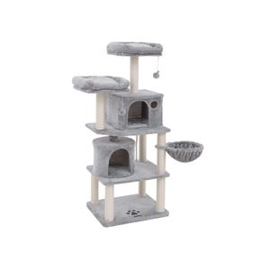 Plush Perches Cat Tree