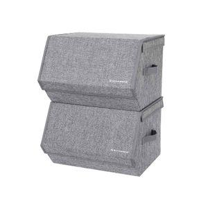 Hinged Lid Storage Boxes